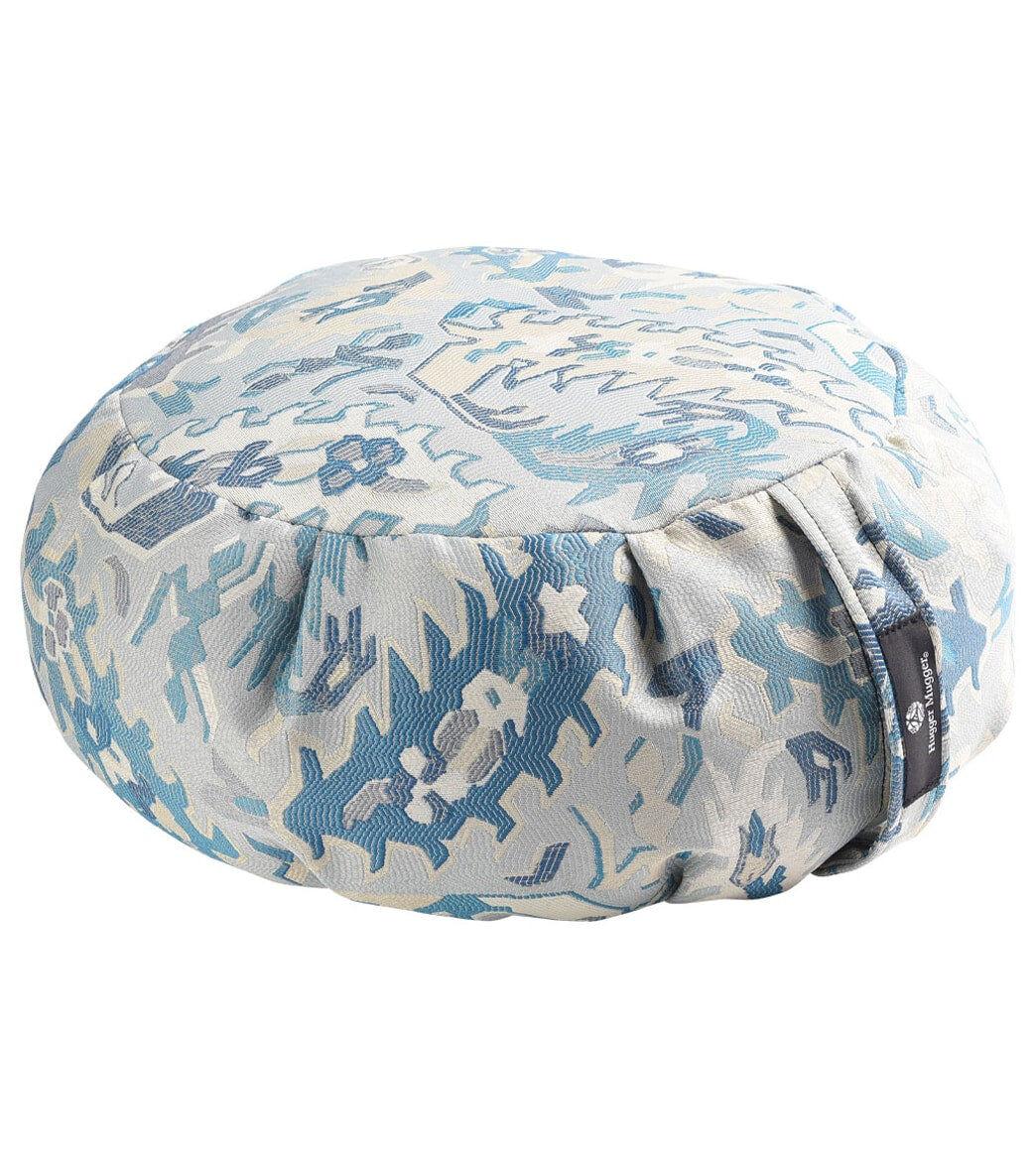 Hugger Mugger Zafu Cushion Crystal Garden Cotton