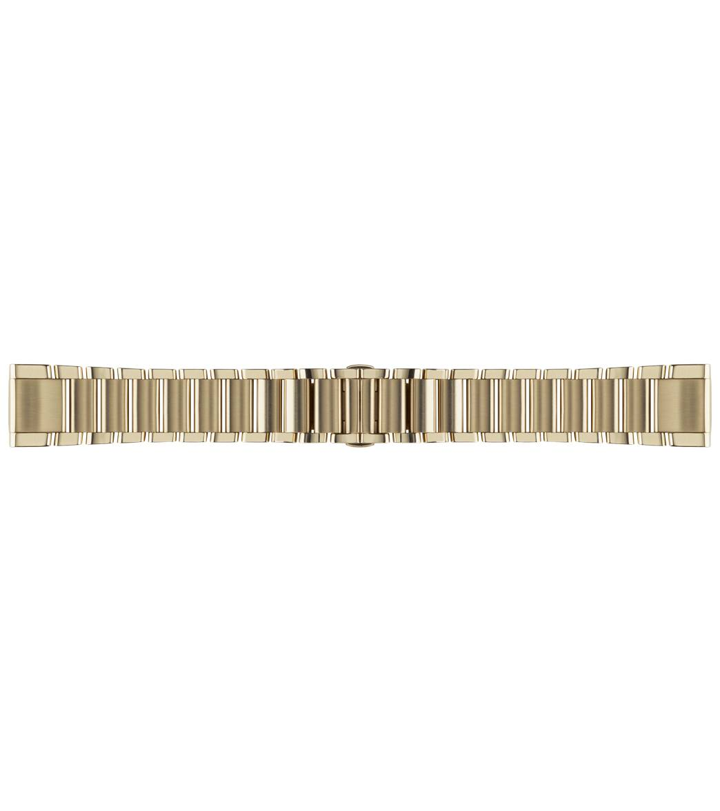 Garmin Fenix 5S Quick Fit Bands Accessory Band - Champagne Stainless Steel 20 Mm - Swimoutlet.com