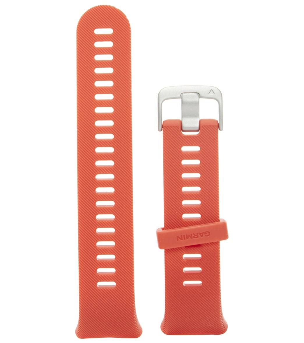 Garmin Forerunner 45 Accessory Band Only - Lava Red - Swimoutlet.com