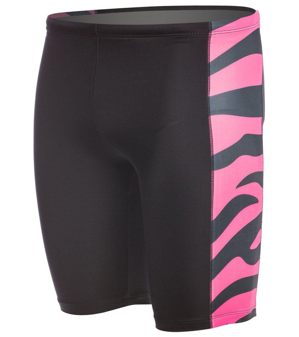 Splish Tiger Jammer Swimsuit - Pink 24 Lycra®/Nylon/Spandex - Swimoutlet.com