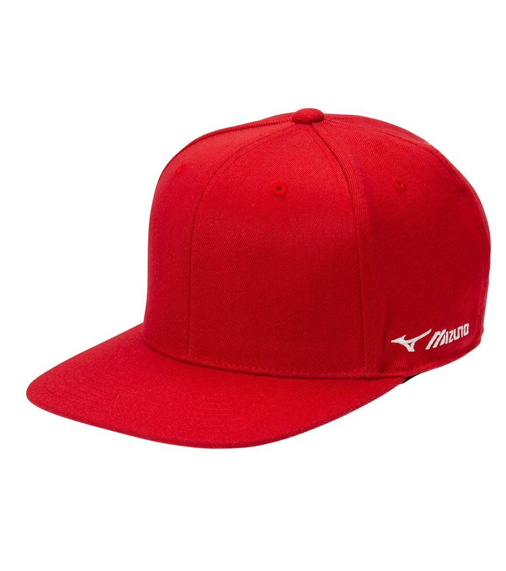 Mizuno Team Snapback Cap - Red - Swimoutlet.com