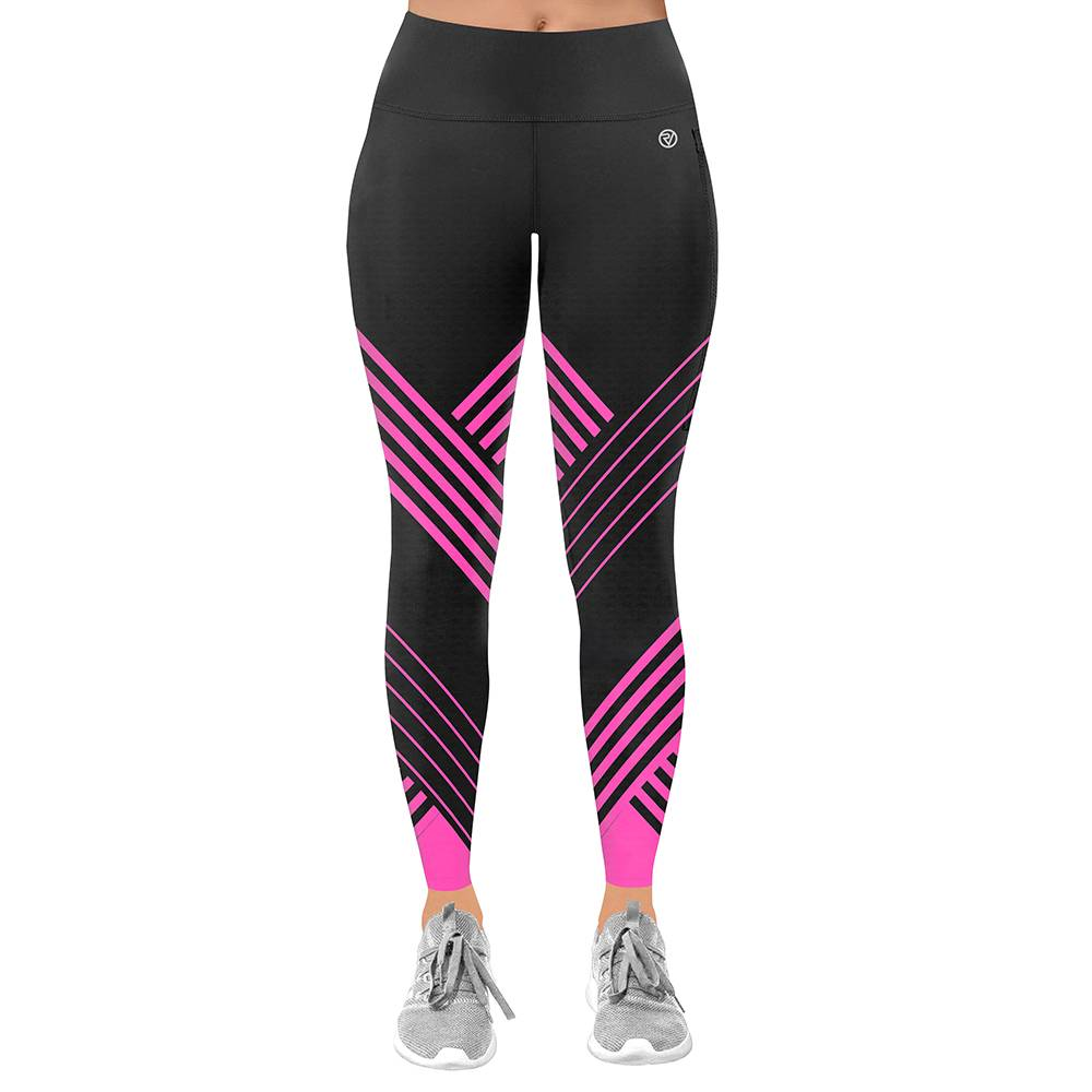 Proviz NEW: Classic Women's Running / Yoga Leggings - Full Length - UK12