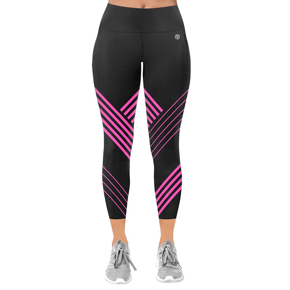 Proviz NEW: Classic Women's Running / Yoga Leggings - 7/8 - UK14