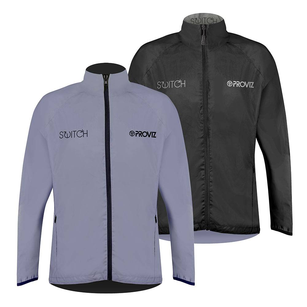 Proviz Switch Cycling Jacket - Mens - Black/Reflective - X Small