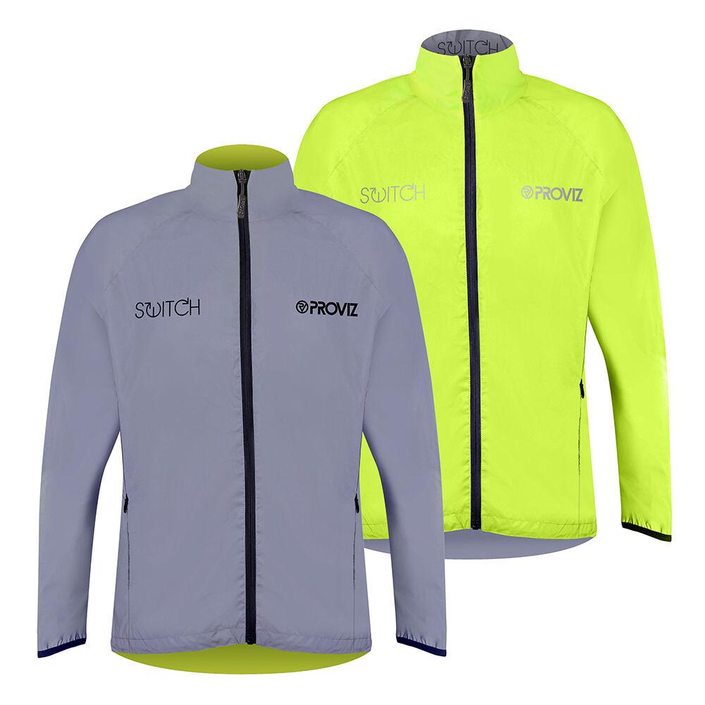Proviz Switch Cycling Jacket - Mens - Yellow/Reflective - X Small