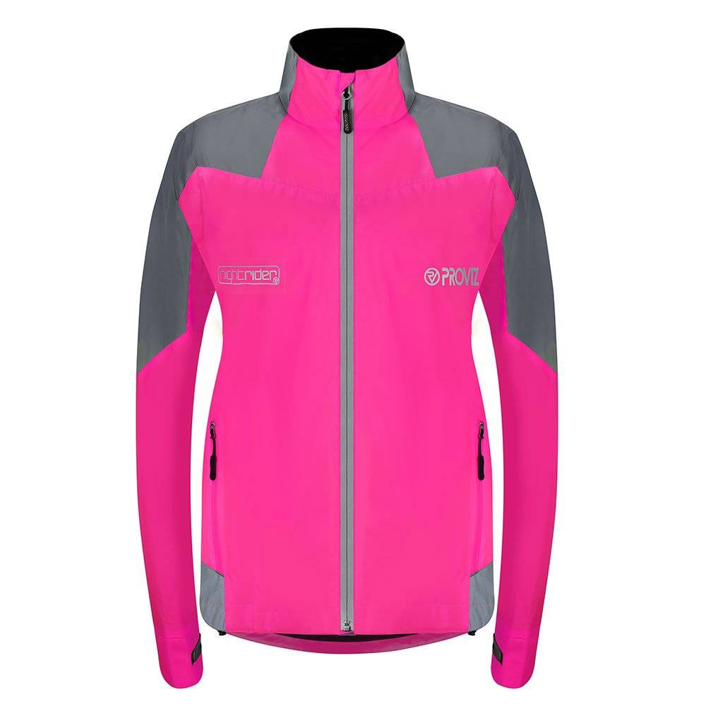 Proviz Nightrider Women's Cycling Jacket 2.0 - Pink - Size 6
