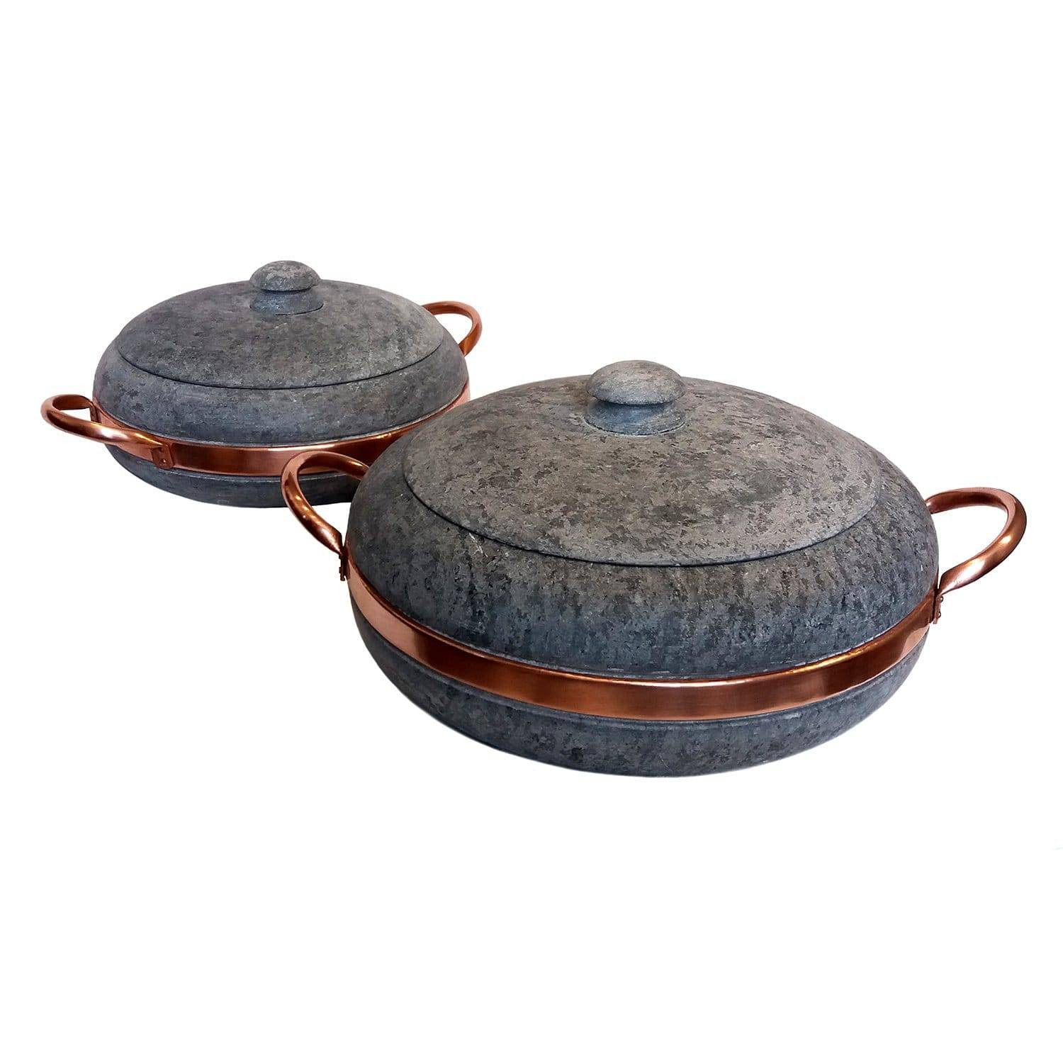 Cookstone Soapstone & Copper Stewing Pan