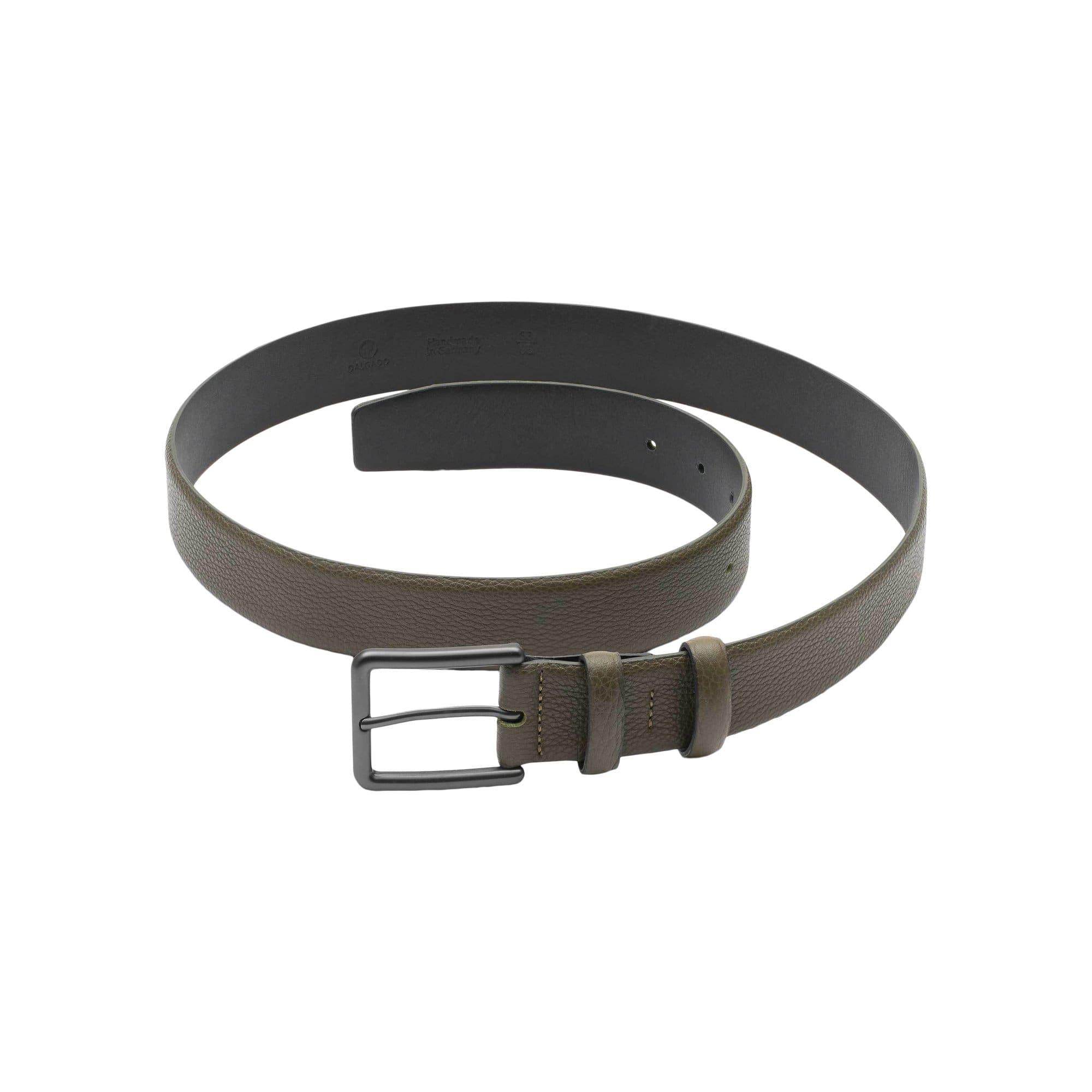 Dalgado Green Santiago Handmade Leather Belt -  unisex - multicolor - Size: one fit