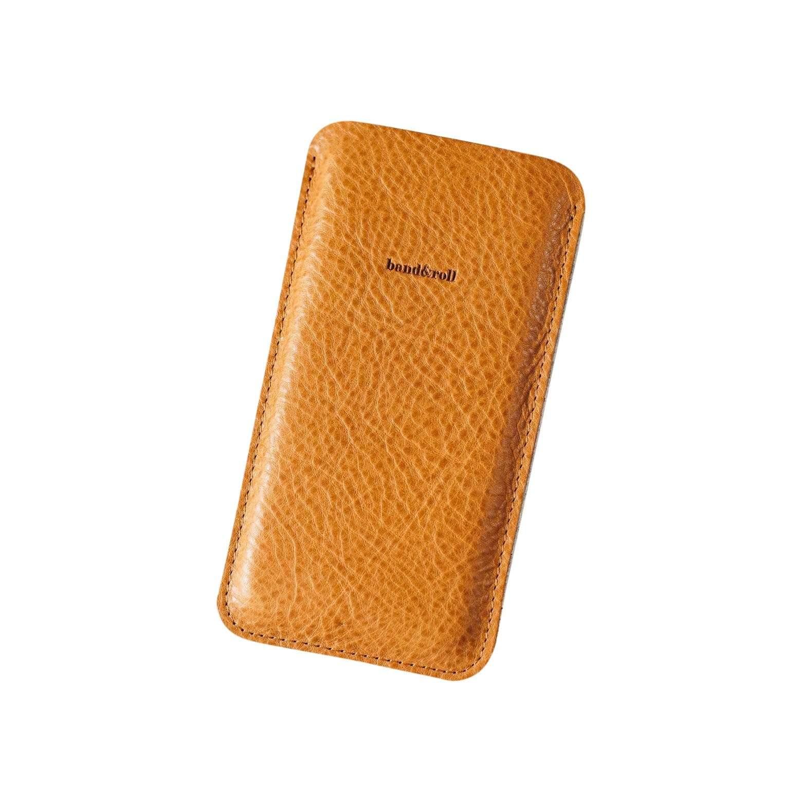 BAND & ROLL Dandy Leather + Felt Phone Case