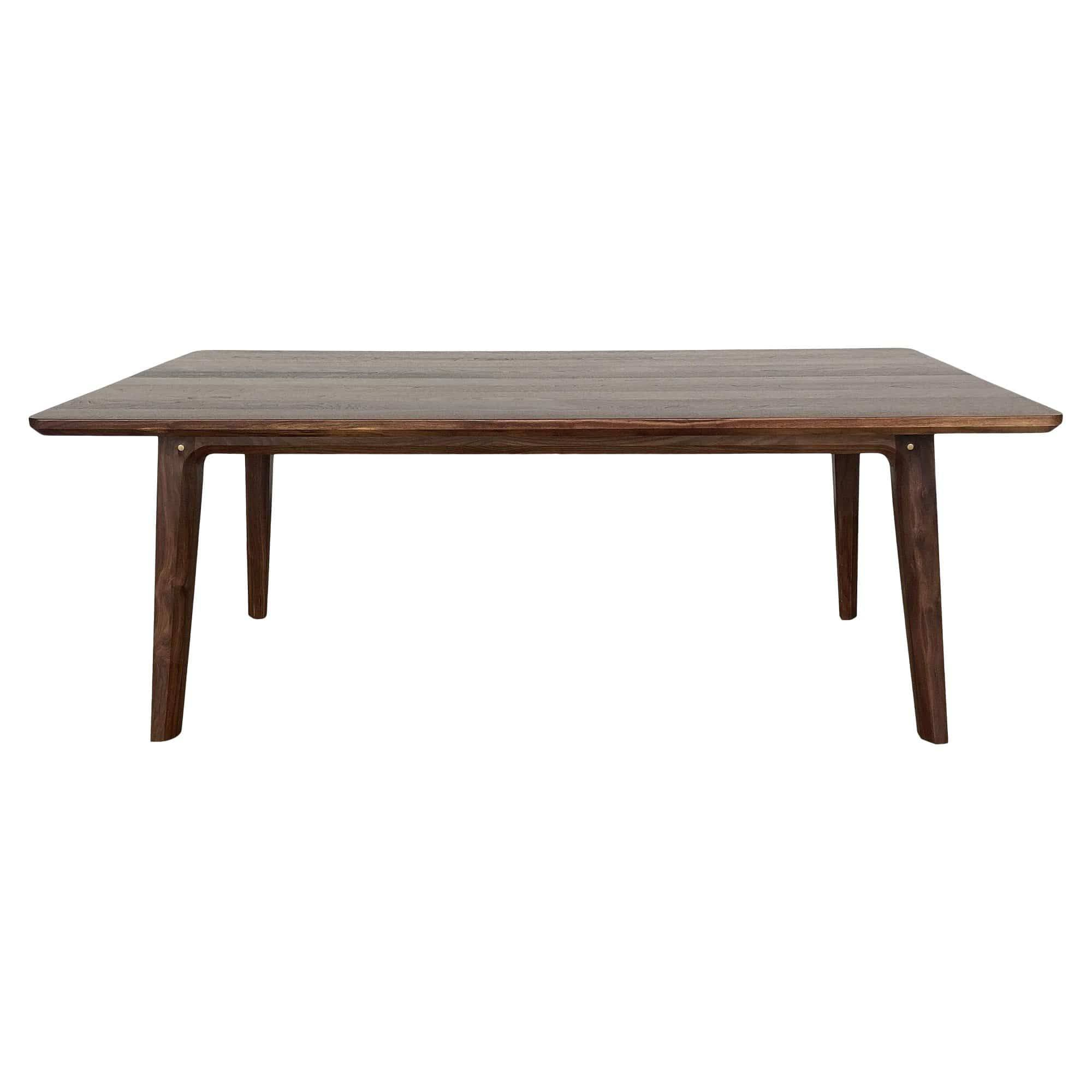 Creative Labs Summit Dining Table in Walnut