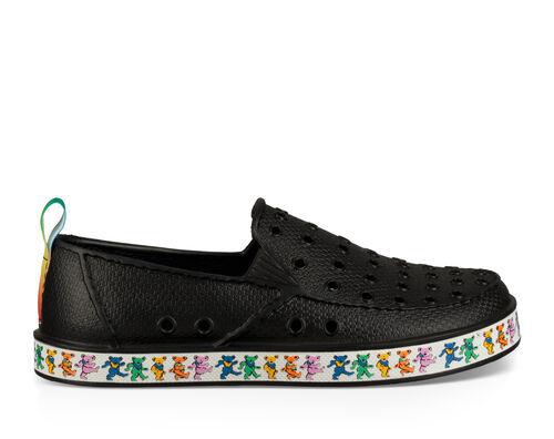 Sanuk Kids' Lil Walker Grateful Dead Sidewalk Surfers Slip-On Shoes in Dancing Bears, Size 12