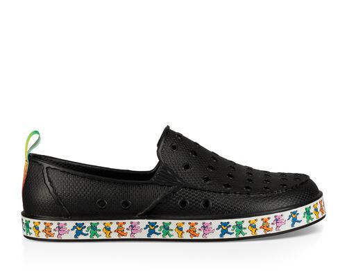 Sanuk Kids' Lil Walker Grateful Dead Sidewalk Surfers Slip-On Shoes in Dancing Bears, Size 1
