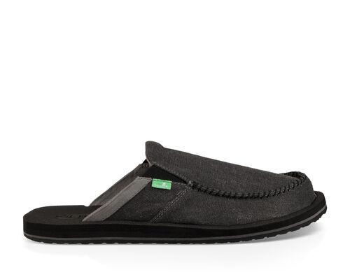 Sanuk Men's You Got My Back III Shoe in Dark Charcoal, Size 7