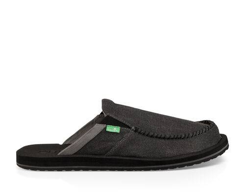 Sanuk Men's You Got My Back III Shoe in Dark Charcoal, Size 8