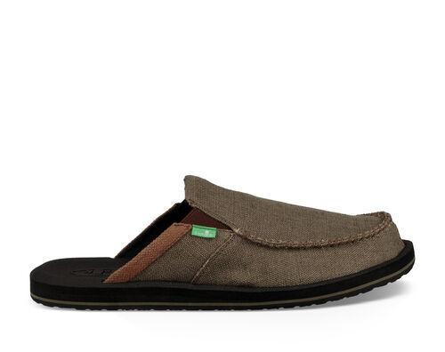 Sanuk Men's You Got My Back III Shoe in Army, Size 9