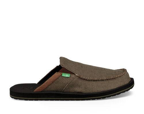Sanuk Men's You Got My Back III Shoe in Army, Size 13