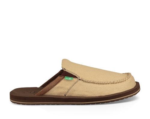 Sanuk Men's You Got My Back III Shoe in Tan, Size 7