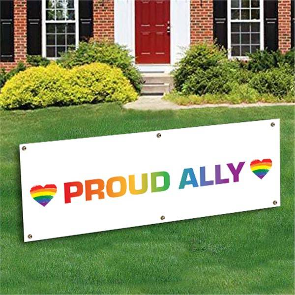 Windy City Novelties Proud Ally Banner Decoration by Windy City Novelties