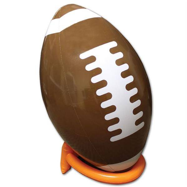 "Windy City Novelties Inflatable 39"" Football And Tee by Windy City Novelties"