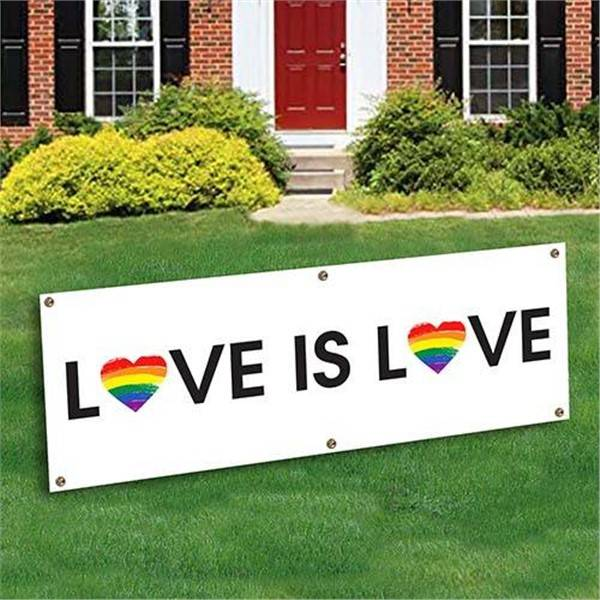 Windy City Novelties Love Is Love Banner Decoration by Windy City Novelties