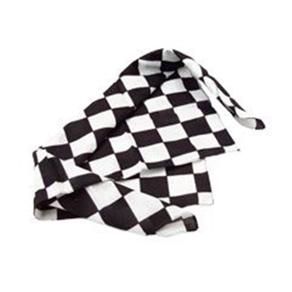 "Windy City Novelties Checkered Flag 20"" Bandanas by Windy City Novelties"
