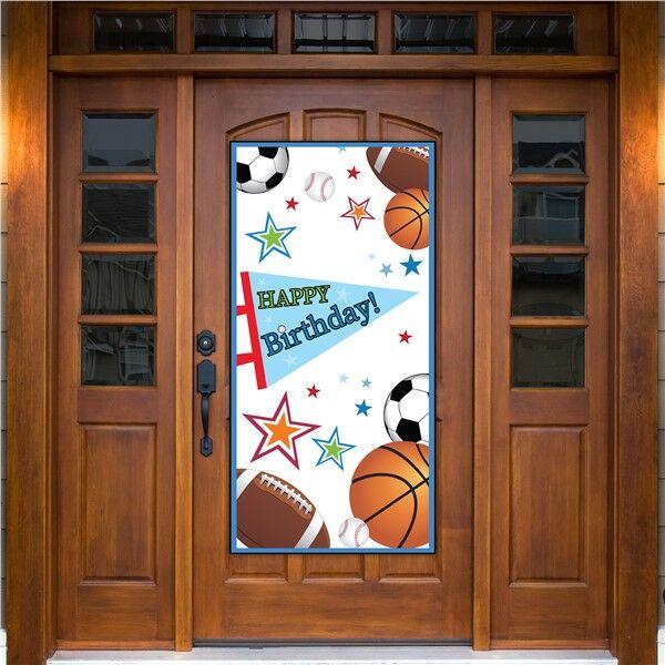 Windy City Novelties Sports Birthday Door Cover by Windy City Novelties