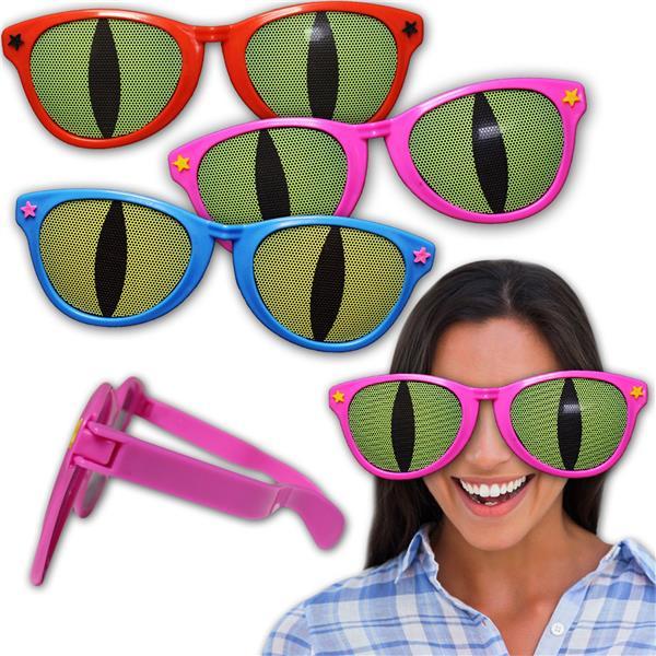 Windy City Novelties Jumbo Cat Eye Funny Sunglasses by Windy City Novelties