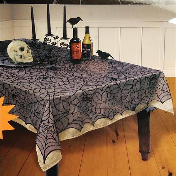 Windy City Novelties Lace Spider Web Tablecloth by Windy City Novelties