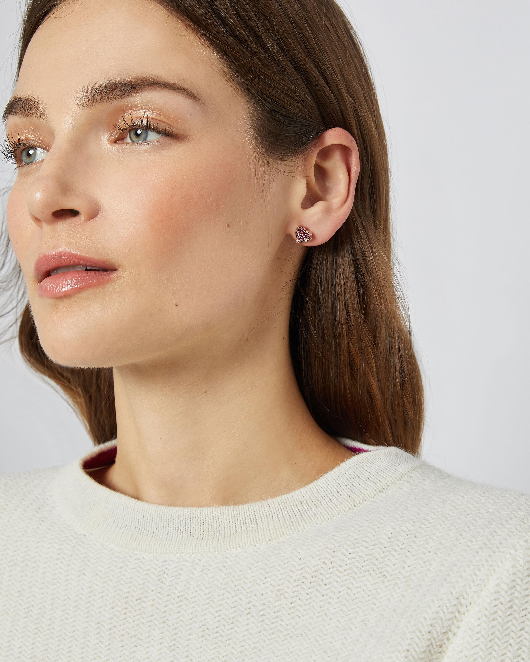 Ted Baker Hidden Heart Earrings