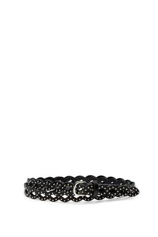 Rebecca Minkoff Korina Belt  - BLACK - Size: Medium