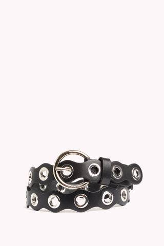 Rebecca Minkoff Lily Belt  - Black - Size: Medium