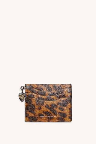 Rebecca Minkoff Large Card Case With Charm  - Size: Female