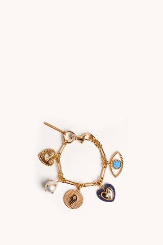 Rebecca Minkoff Evil Eye Charm Bracelet  - Size: Female