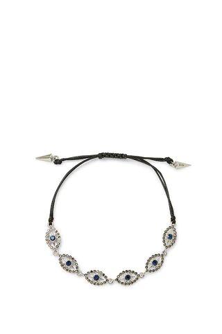 Rebecca Minkoff Celestial Evil Eye Pulley Bracelet  - Size: Female
