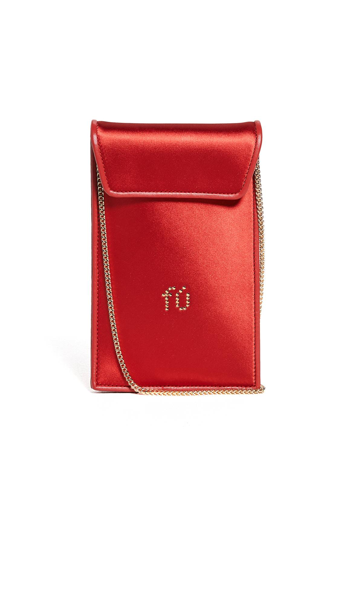 Alexander Wang Wangloc Envelope Phone Pouch  - Red Multi - Size: One Size