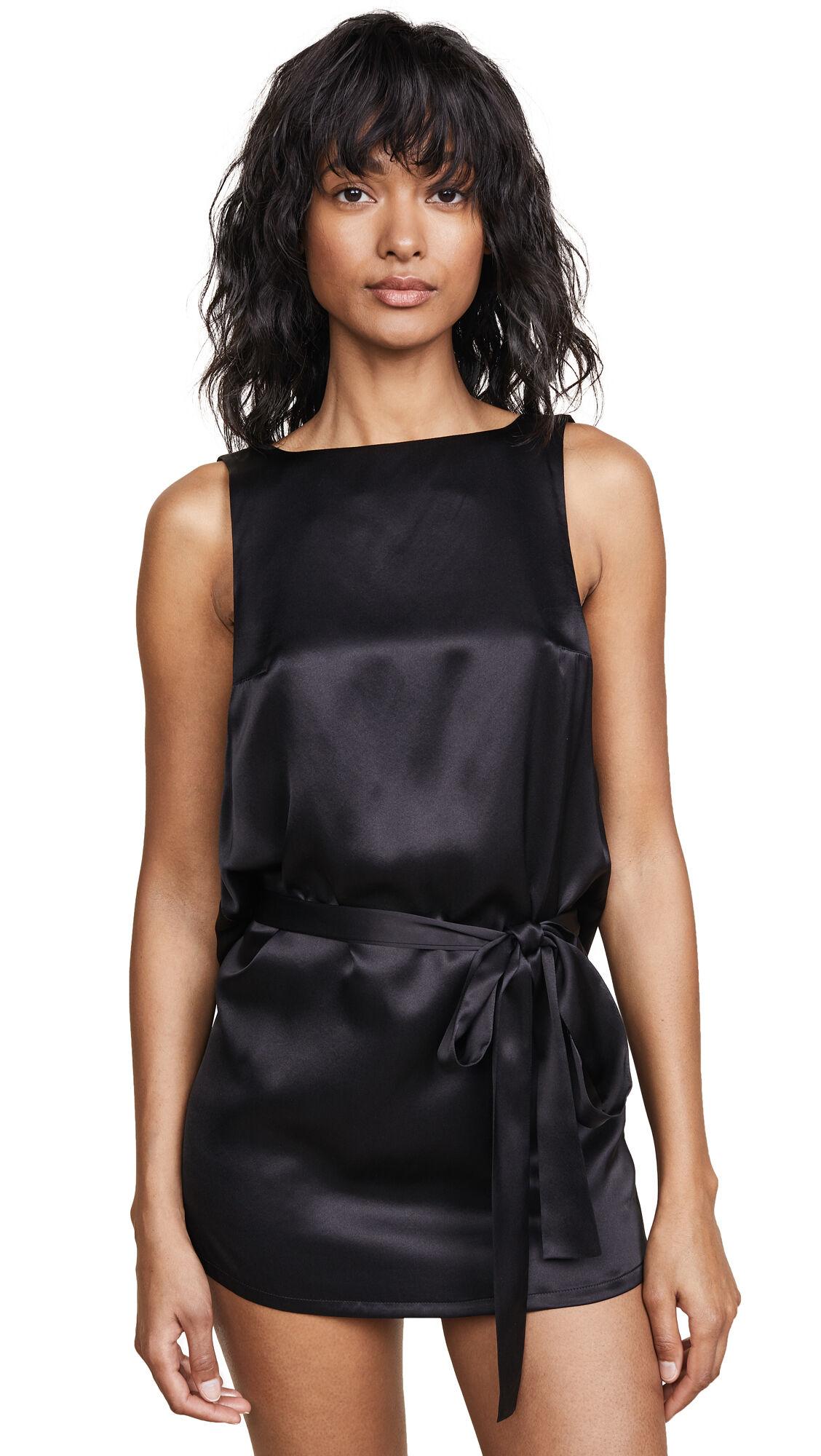 Kiki De Montparnasse Welcome Home Tunic  - Black - Size: Medium