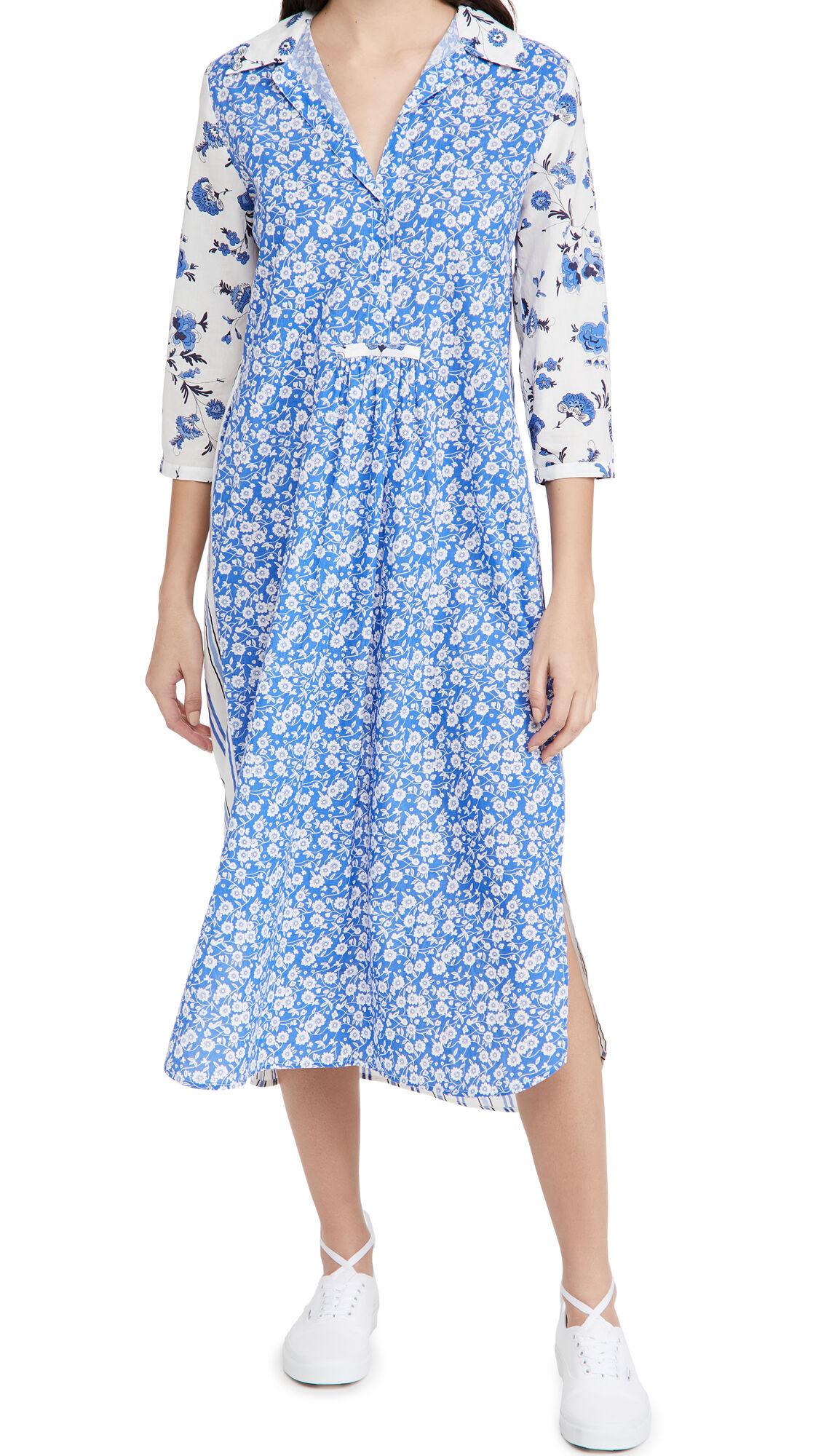 Ro's Garden Brooklyn Dress  - Provence Blue - Size: Small