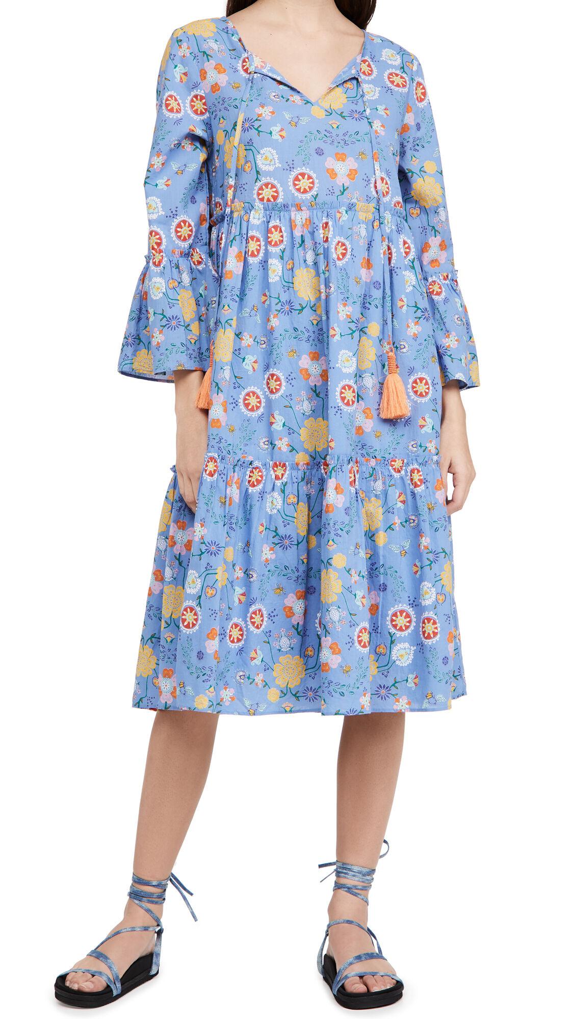 Ro's Garden Dulce Dress  - Gardenia - Size: Large
