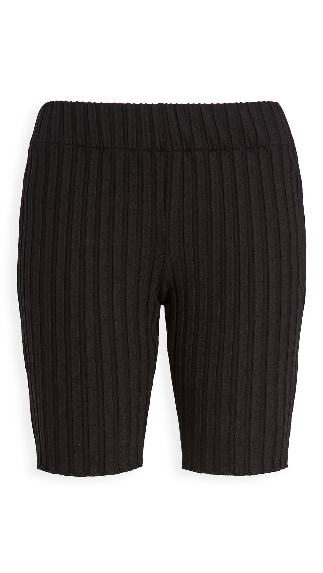 Simon Miller Burr Bike Shorts  - Black - Size: Small