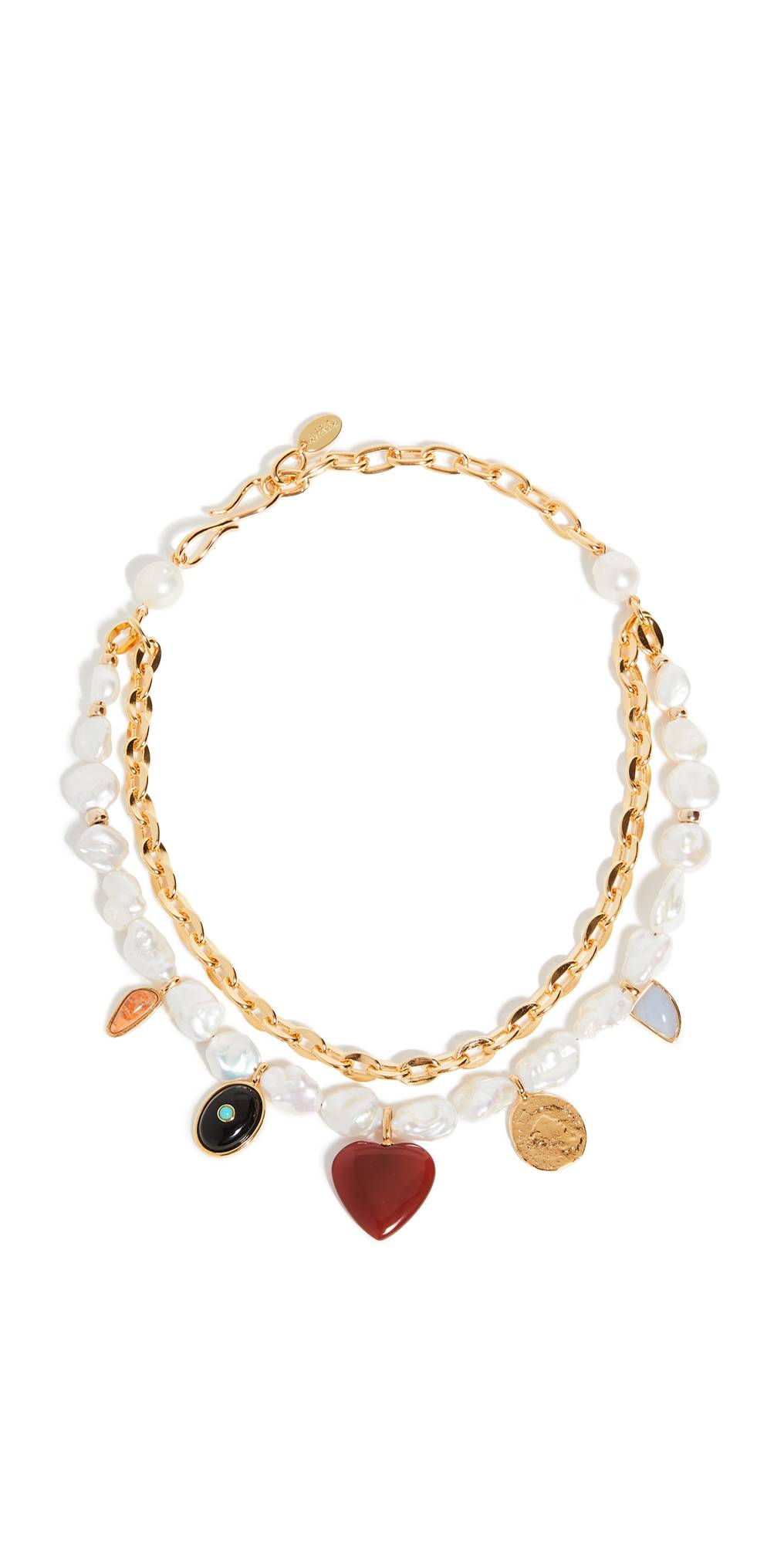 Lizzie Fortunato Tarot Garden Necklace  - Multi - Size: One Size