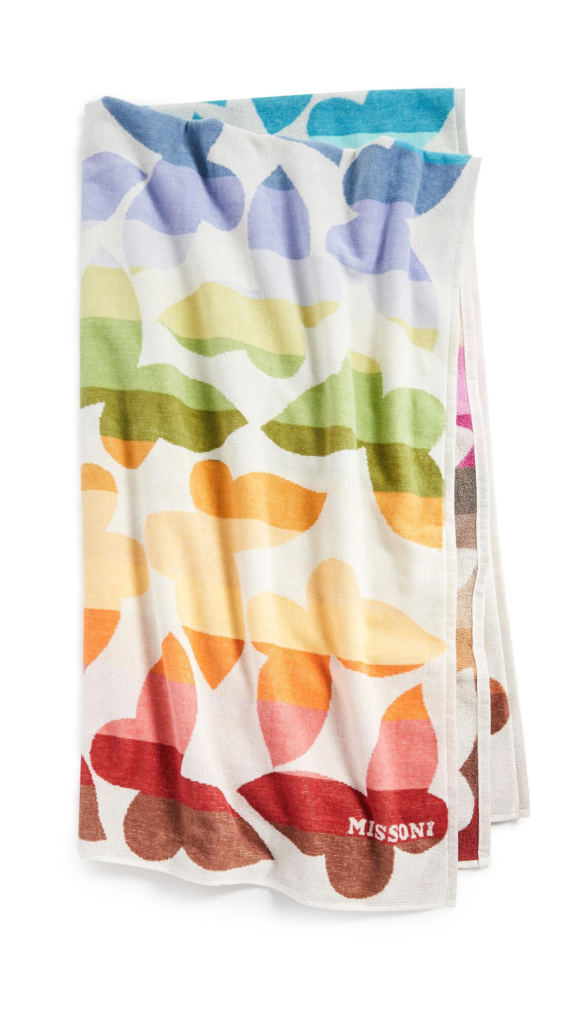 Missoni Home Jamelia Beach Towel  - Multicolor - Size: One Size