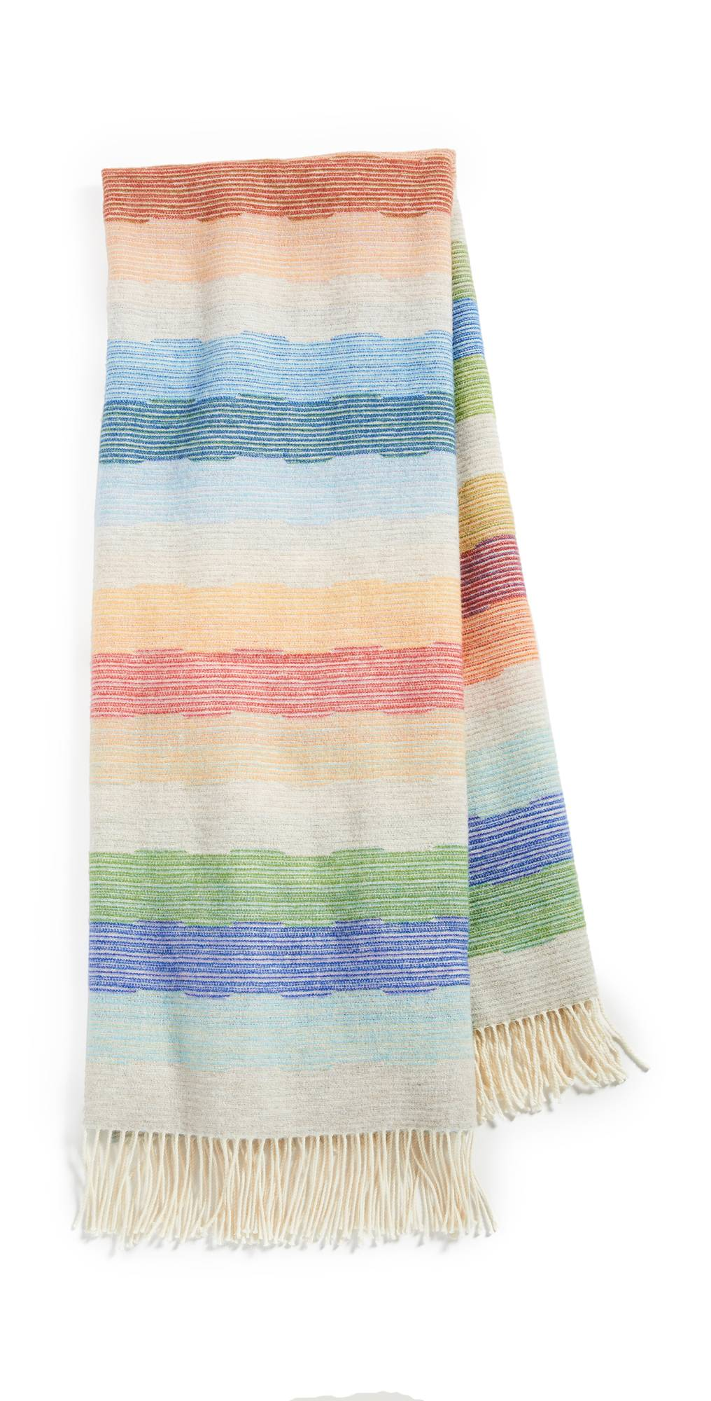Missoni Home Wesley Throw Blanket  - Multicolor - Size: One Size