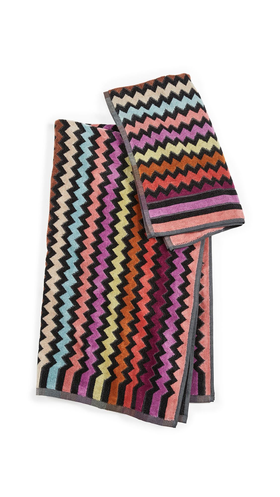 Missoni Home 159 Warner 2 Piece Towel Set  - 159 Warner - Size: One Size