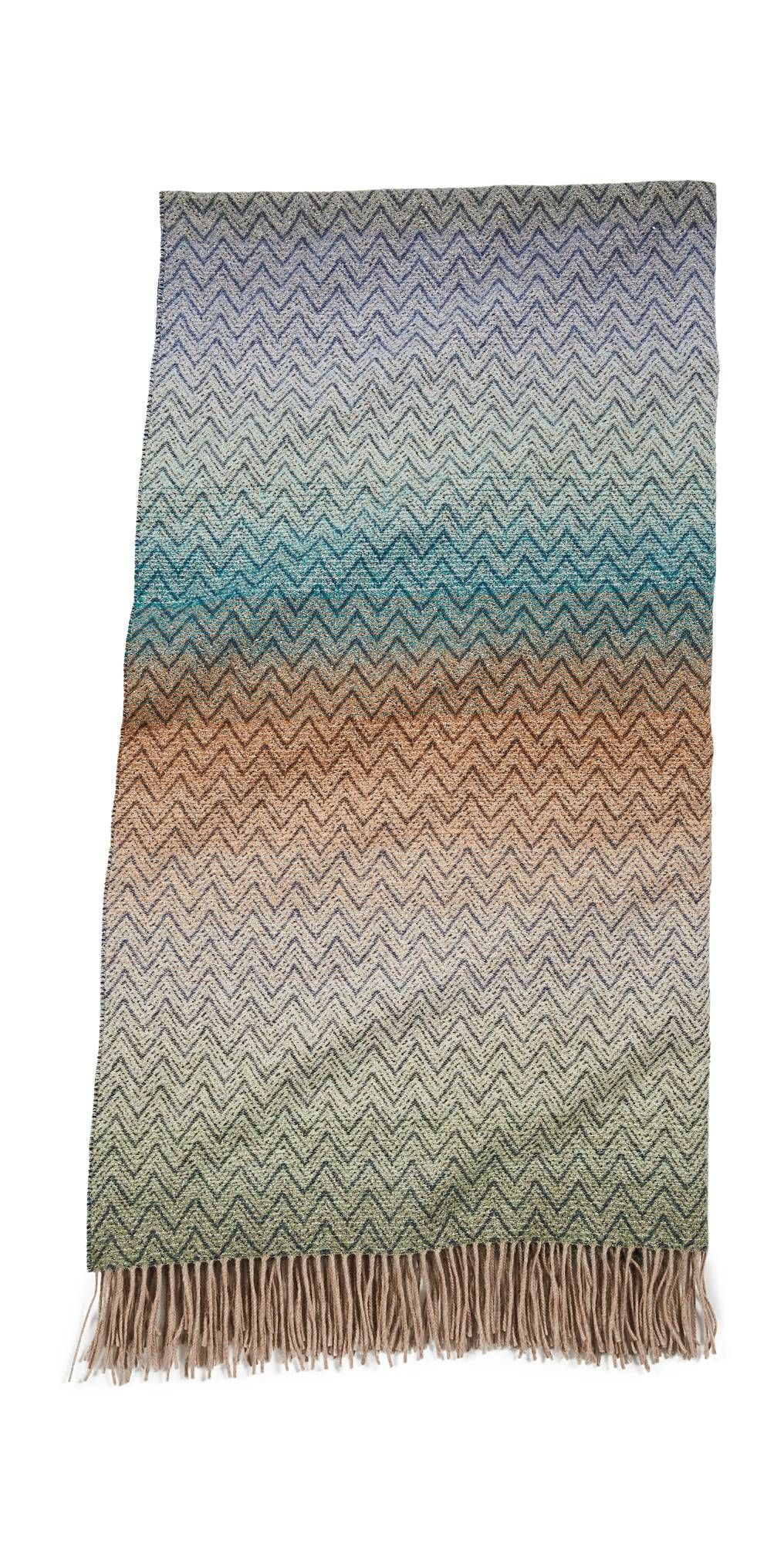 Missoni Home Pascal Throw  - Multi Blue - Size: One Size