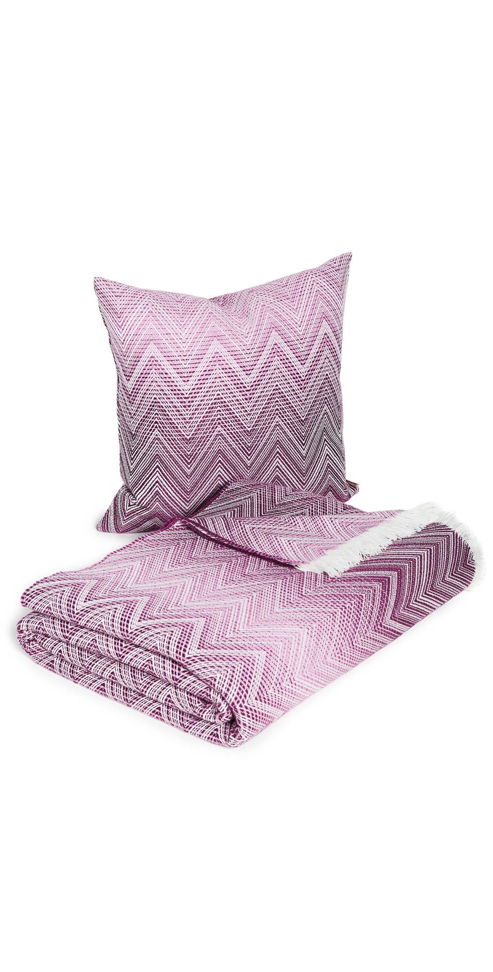 Missoni Home Timmy Throw + Cushion Set  - 491 - Size: One Size