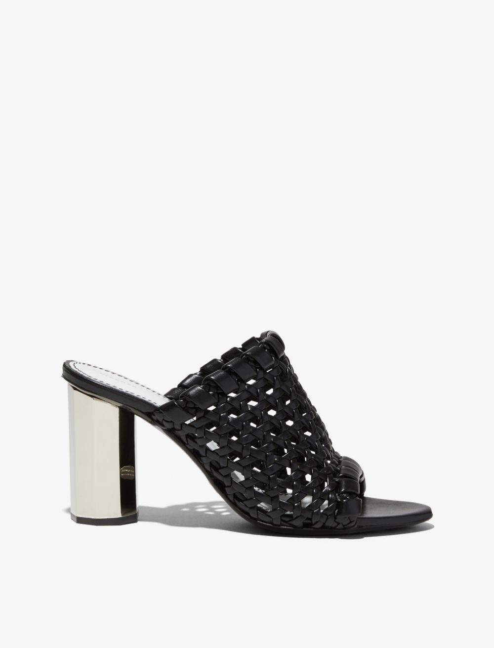 Proenza Schouler Woven High Heel Sandals black 39.5