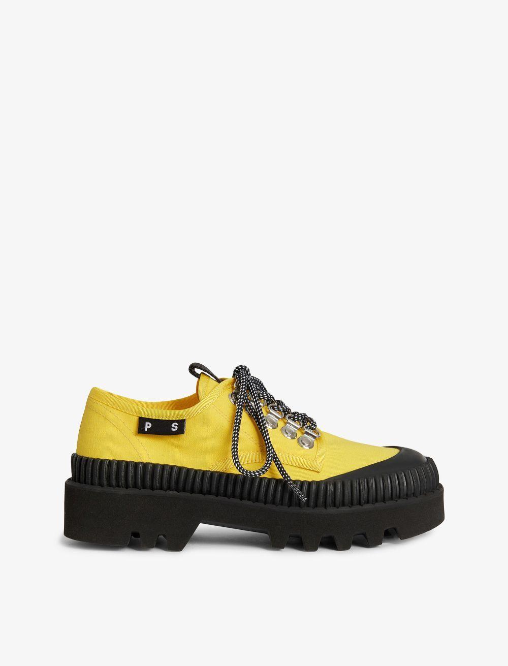 Proenza Schouler City Lug Sole Shoes 206 yellow 37