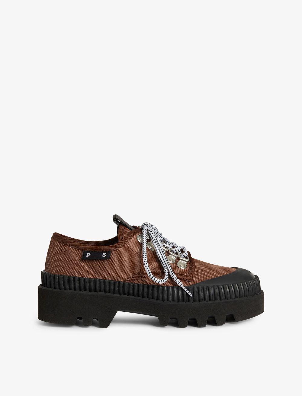 Proenza Schouler City Lug Sole Shoes 521 cinnamon/brown 35