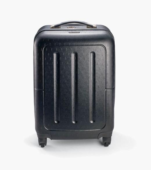 Florsheim Jet Setter Carry On - Black Jet Setter Carry On - Black Hard Shell Wheeled Luggage Men's Bag Accessories  - Misc - Size: Medium