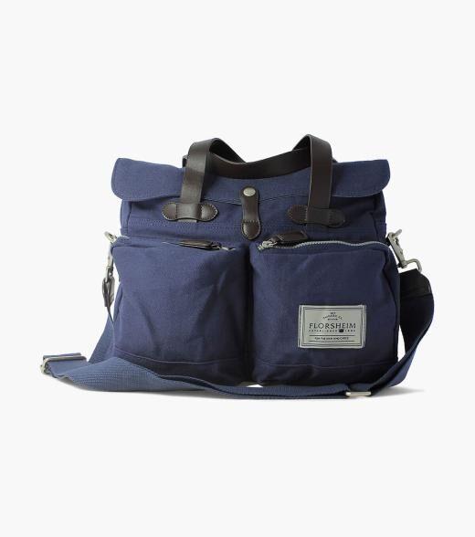 Florsheim Vincent Vincent Vintage Canvas Messenger Men's Bag Accessories  - Misc